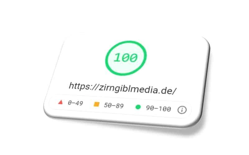 PageSpeed Insights (BESTWERT)